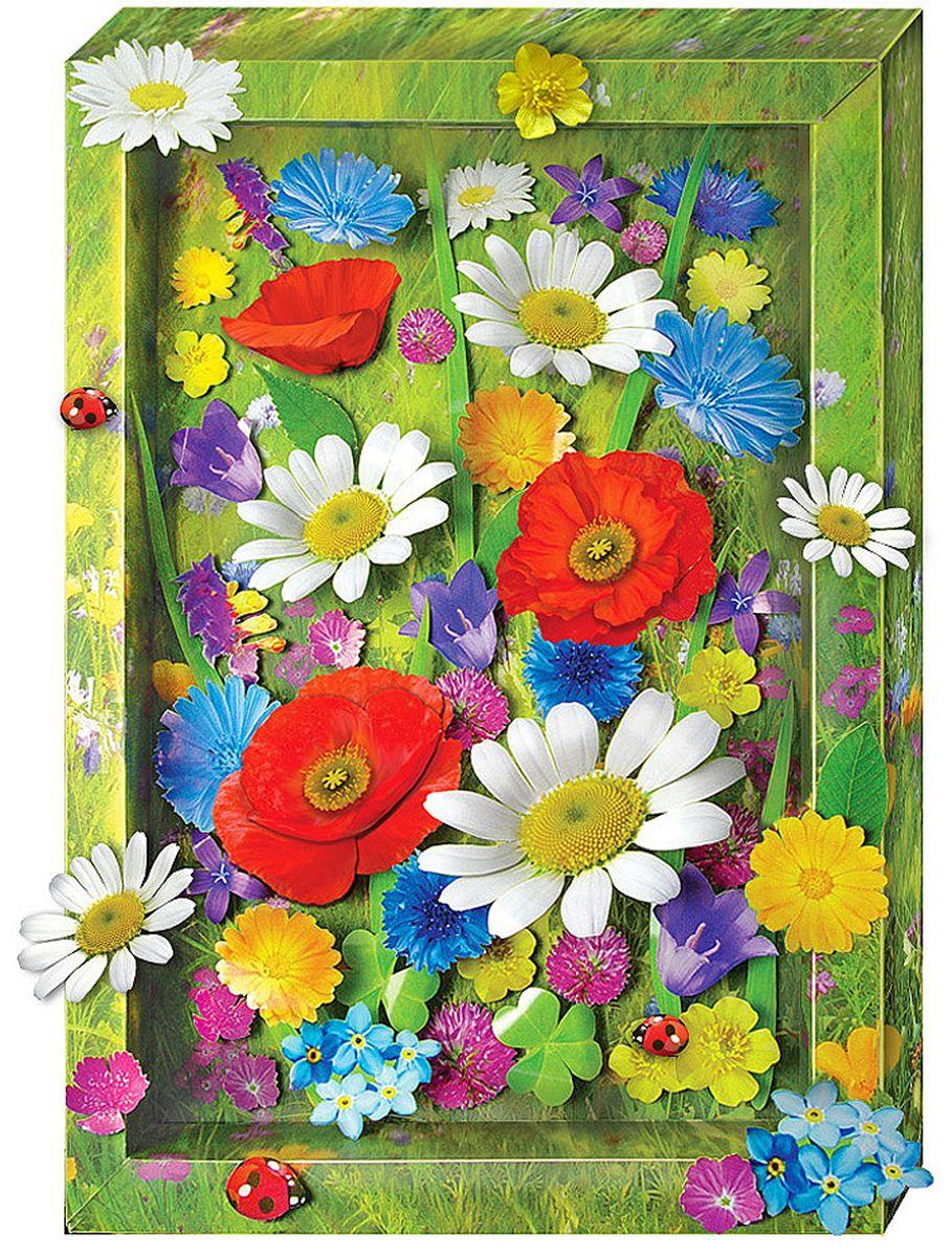 Аппликация из цветов